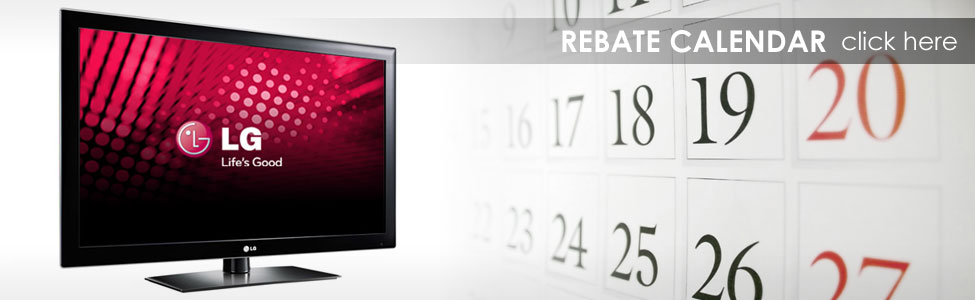 LG Calendar of Rebates